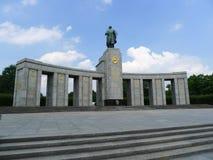Gedenkteken van de Oorlog van Berlijn het Sovjet Stock Fotografie