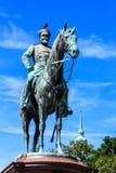 Gedenkteken van Groot Duke Ludwig van Hessen in Darmstadt, Duitsland Royalty-vrije Stock Fotografie