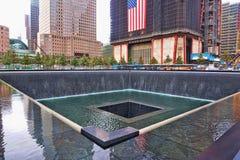 Gedenkteken WTC 9-11 Stock Fotografie