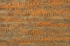 Gedetailleerd beeld van een linoleum stock afbeeldingen