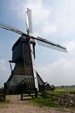Gedetailleerd beeld van Nederlandse windmolen Stock Foto