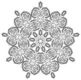 Gedetailleerd Gem Mandala Royalty-vrije Stock Fotografie