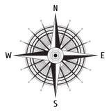 Gedetailleerd Kompas Windrose Royalty-vrije Stock Fotografie
