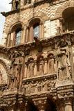 Gedetailleerde kerk Stock Afbeeldingen