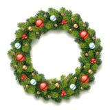 Gedetailleerde Kerstmiskroon Royalty-vrije Stock Afbeelding