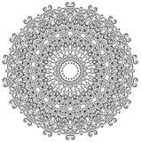 Gedetailleerde Mandala Stock Afbeeldingen