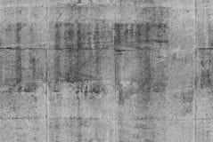 Gedetailleerde naadloze grijze concrete muurtextuur stock foto's