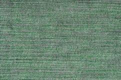Gedetailleerde textuur van donkere denimdoek Royalty-vrije Stock Afbeeldingen