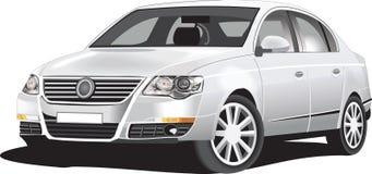 Gedetailleerde vectorauto Royalty-vrije Stock Foto
