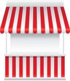 Gedetailleerde vectorillustratie van een boxtribune Royalty-vrije Stock Afbeeldingen