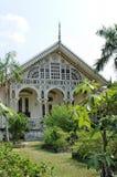 Gedhong purworetno, the beautiful pavilion at puro pakualaman palace complex, yogyakarta. Pura Pakualaman is a Kadipaten (regency) Palace as well as the dwelling Royalty Free Stock Images