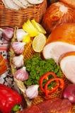 Gediend vlees Stock Fotografie
