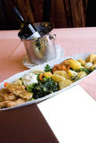 Gediend voedsel Royalty-vrije Stock Foto's