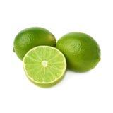 Gediente Kalkfruchtzusammensetzung lokalisiert über Stockbild