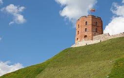 Gediminas的塔 免版税库存图片
