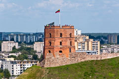 Gediminas Castle Tower Royalty Free Stock Photography