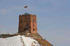 Gediminas Castle in Vilnius Royalty Free Stock Photography