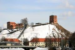 Gediminas kasztel w Vilnius fotografia royalty free