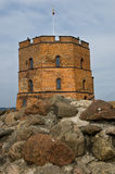 Gediminas Tower on Castle Hill in Vilnius, Lithuan Stock Photos