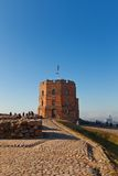 Gediminas Tower (circa 1409) of the Upper Castle. Vilnius Royalty Free Stock Photography