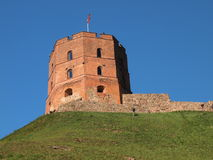 Gediminas Tower (Vilnius, Lithuania) Stock Photos