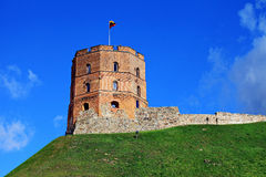 Gediminas tower.Vilnius. Gediminas tower in Vilnius,Lithuania royalty free stock photography