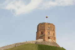 Gediminas tower in Vilnius. Royalty Free Stock Image