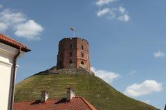 Gediminas Tower. Vilnius, Lithuania. Stock Photos
