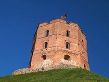 Gediminas wierza Vilnius, Lithuania (,) Zdjęcia Stock