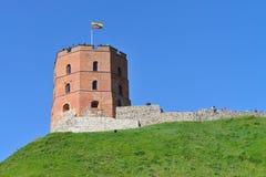 Gedimino Tower in Vilnius Stock Image