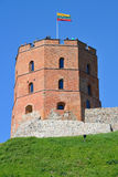 Gedimino Tower in Vilnius Stock Photo