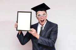 Gediplomeerde student stock foto