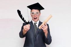 Gediplomeerde student royalty-vrije stock foto