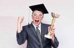 Gediplomeerde student royalty-vrije stock fotografie