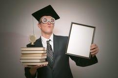 Gediplomeerde student royalty-vrije stock afbeeldingen
