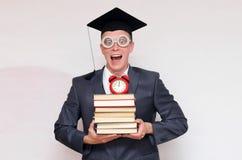 Gediplomeerde student stock afbeeldingen