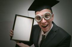 Gediplomeerde student royalty-vrije stock afbeelding