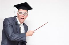 Gediplomeerde student stock afbeelding