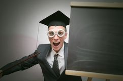 Gediplomeerde student stock fotografie