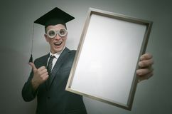 Gediplomeerde student stock foto's