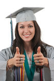 Gediplomeerde Student royalty-vrije stock foto's