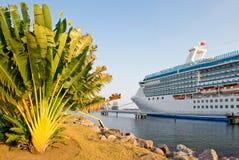 Gedokt cruiseschip Stock Fotografie