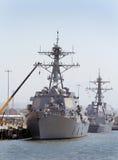 Gedokte schepen Royalty-vrije Stock Foto