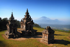 Gedong Songo Temple. A Morning on Gedong Songo Temple Royalty Free Stock Photo