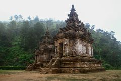 Gedong Songo Temple Stock Image
