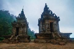 Gedong Songo Temple Stock Images