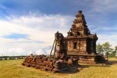 Gedongsongo świątynia Obrazy Royalty Free