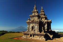 Gedongsongo Czwarty i Kwinty Świątynia Zdjęcie Stock