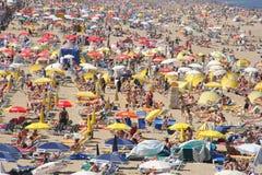 Gedrängter Strand
