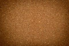 Gedrückte Korkenplattenbeschaffenheit Lizenzfreies Stockfoto